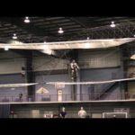 Тестовый полет вертолета на педалях